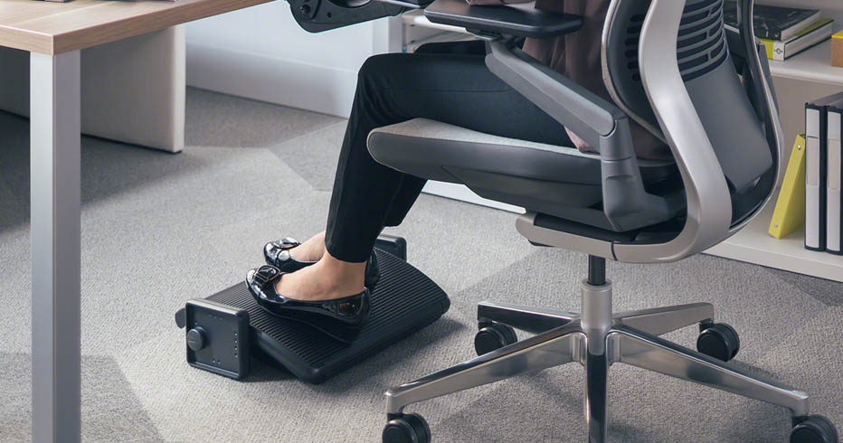 Sit Stand Desk Accessories - Ergonomic Footrest