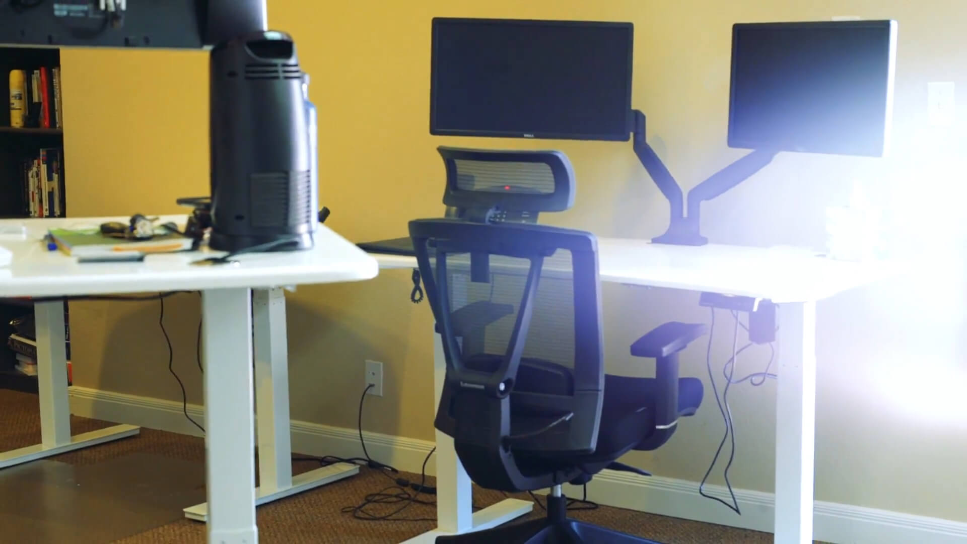 Ergonomic chair for tall person