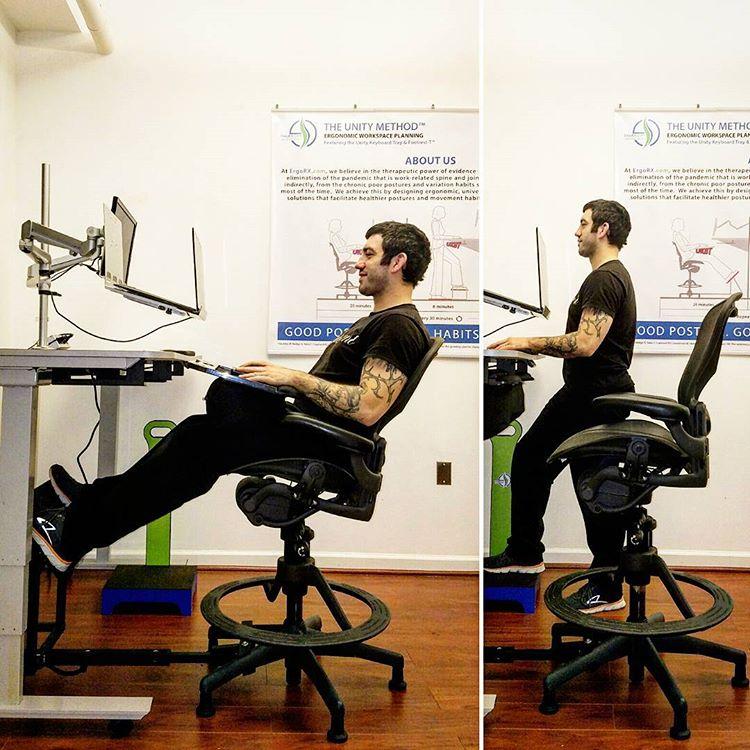 Harwick Evolve Heavy Duty Drafting Chair