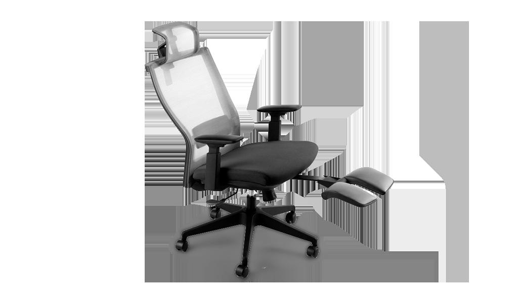 Essential Chair Autonomous Office Chair with Footrest