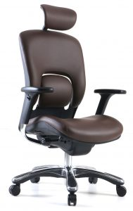 GM Seating Ergolux Genuine Leather Executive Chair - Review by Standingdesktopper