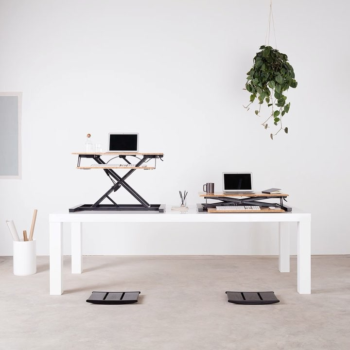 Standing desk converter fully us