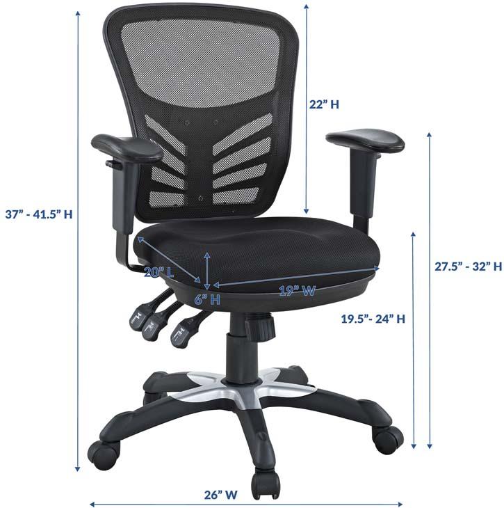 Modway Articulate Ergonomic Mesh Office Chair
