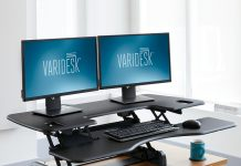 Standing Desk Review - VariDesk Pro Plus 48: Taking breaks to stand