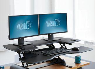 Standing Desk Review - VariDesk Pro Plus 48: Taking breaks to stand