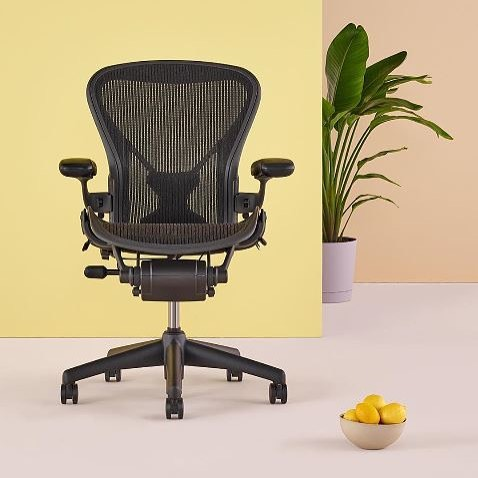 Herman Miller Aeron chair - the best chair for sitting all day