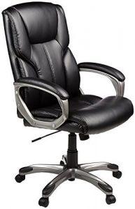 Amazon Basics High-Back Executive chair standingdesktopper