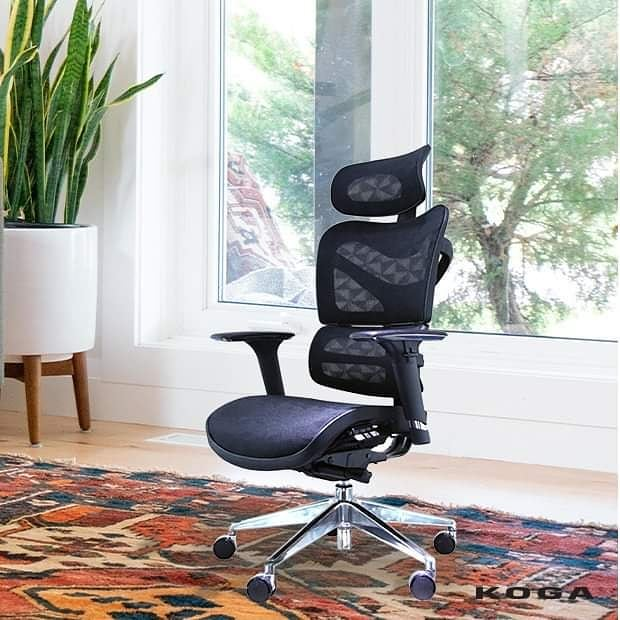 Ergohuman Mid-Back mesh chair ME8ERGLO - office chair for long hours