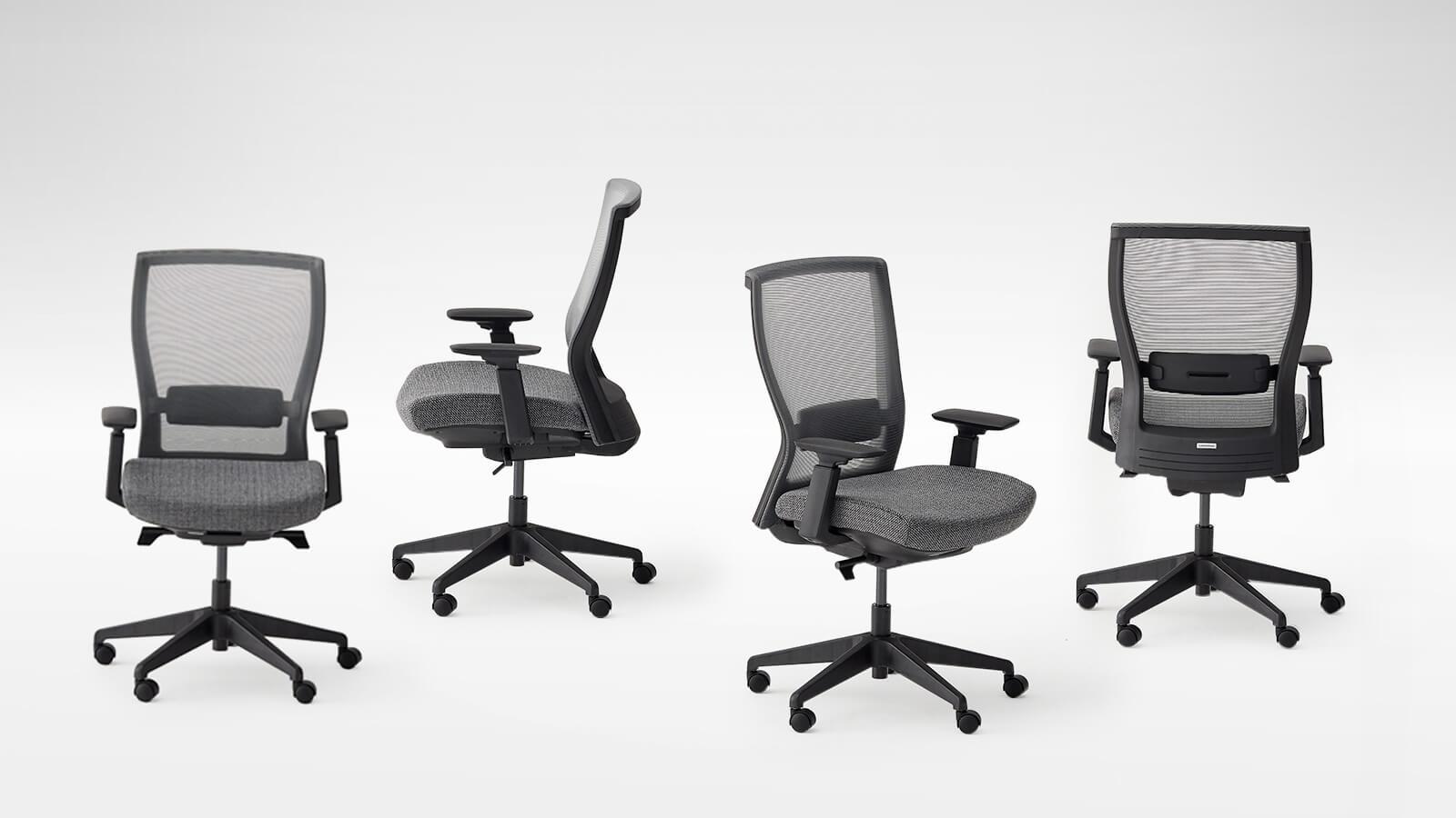Myochair of autonomous ergonomic office chair