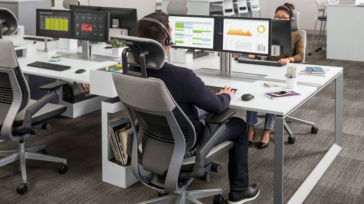 Steelcase Gesture Office Chair for long hours