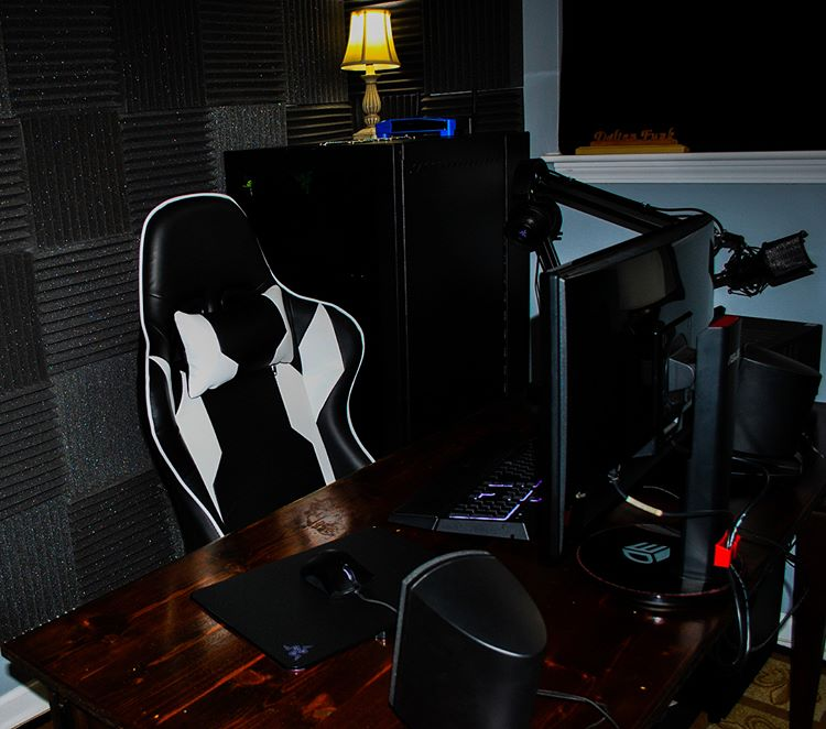 Homall Ergonomic Leather Racing Style Gaming Chair