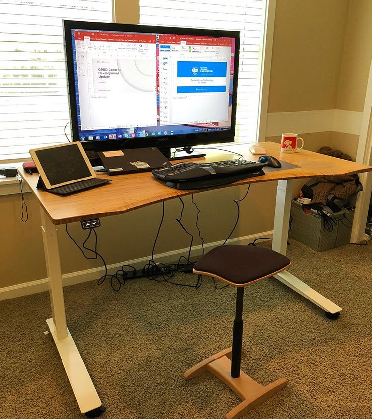 Fully's Jarvis Standing Desk Bamboo Top Review - Simple