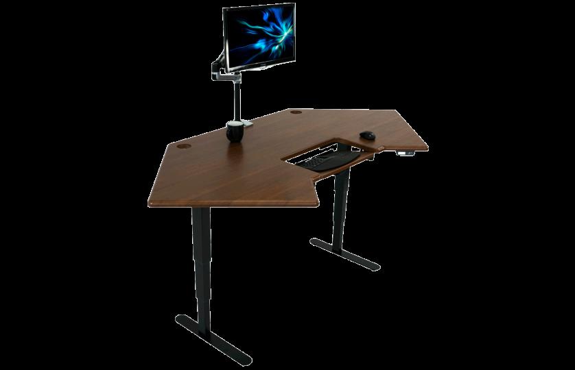 iMovR's Cascade Corner Standing Desk