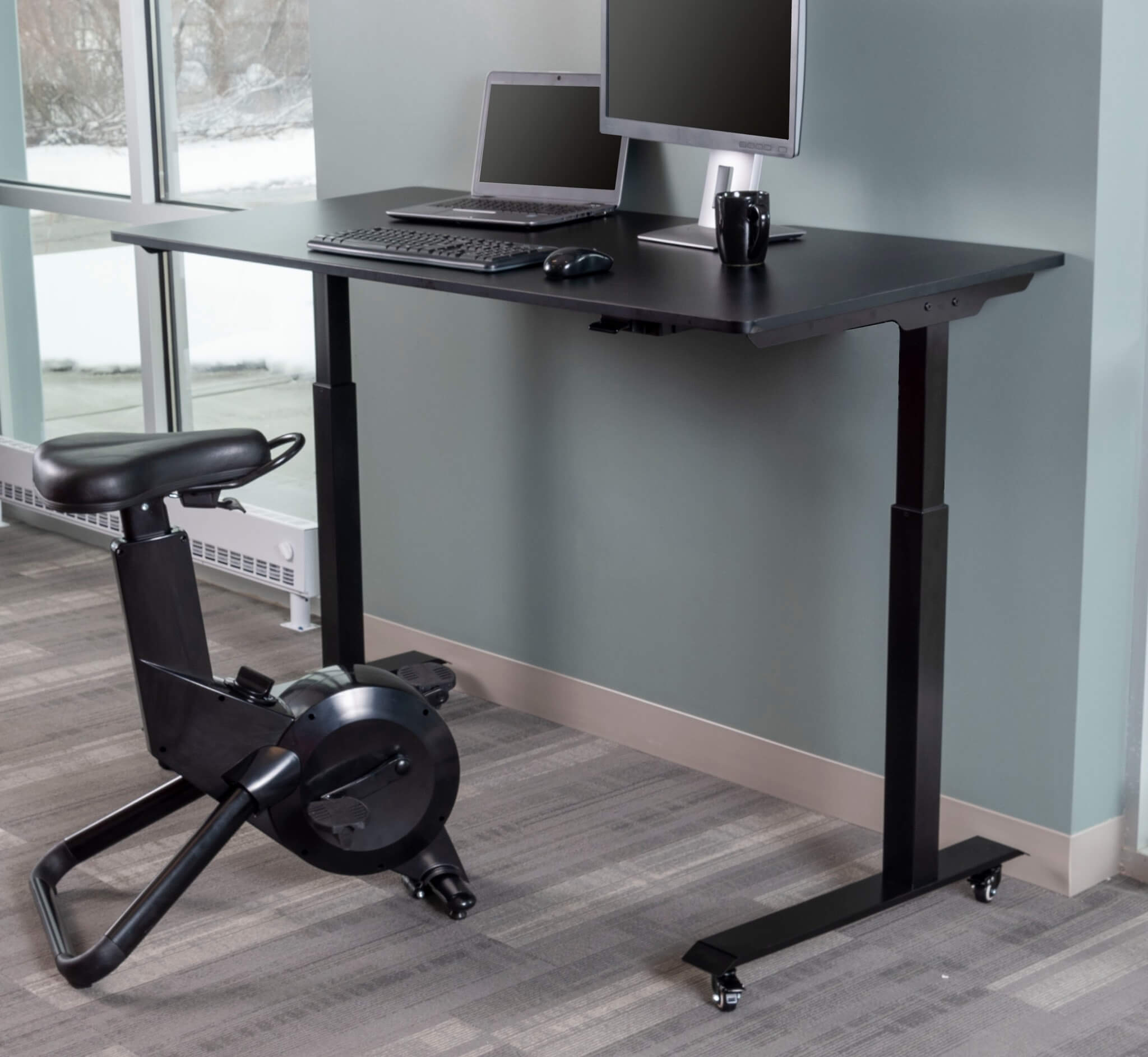 Electric Standing Desk with Programmable Memory