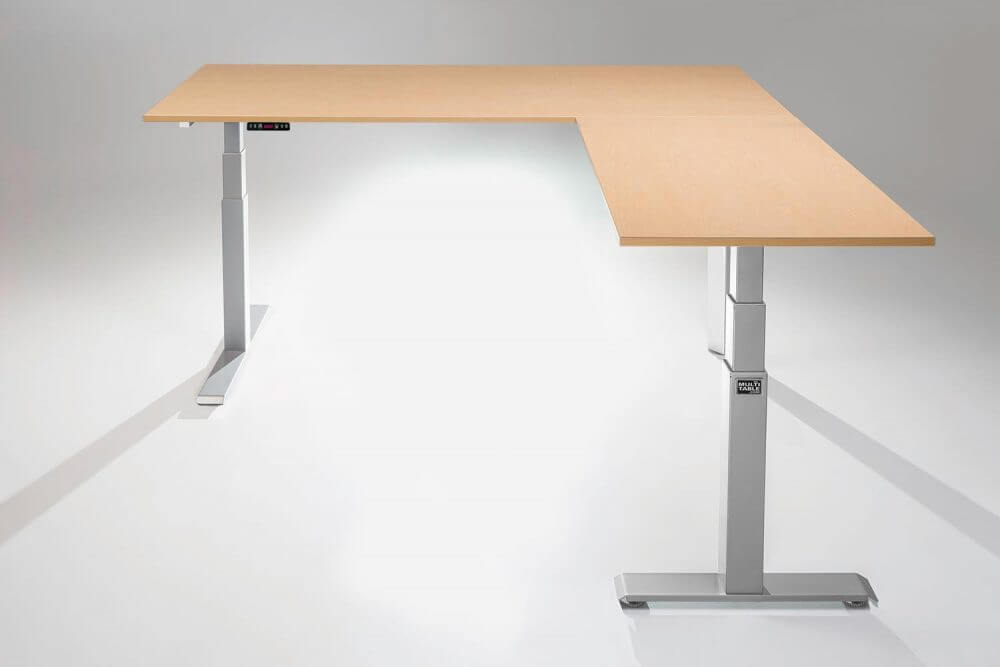 Multi-Table L Shaped standing desk topper