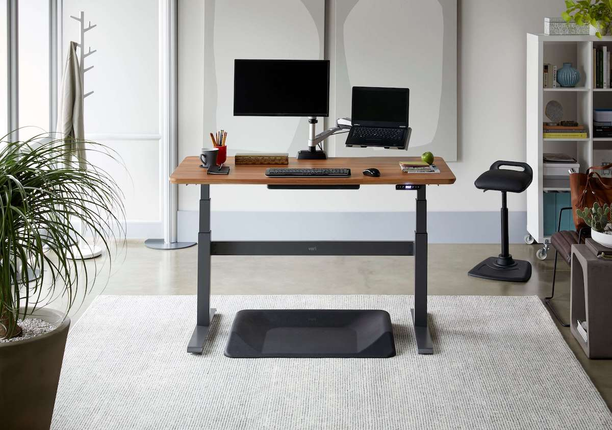 Vari Electric Standing Desk bamboo