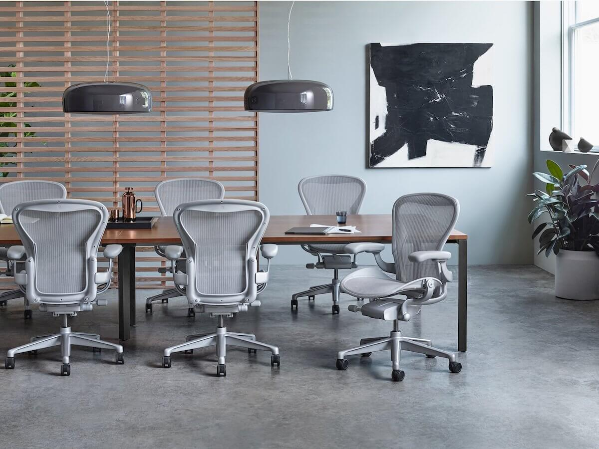Aeron chair - the classic Herman Miller chairs