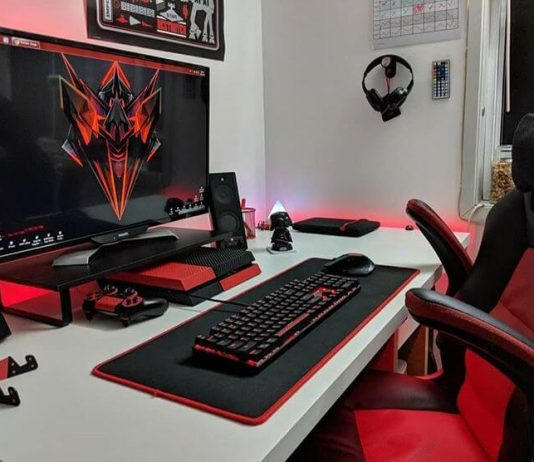 Gaming keyboard - one of 8 gaming desk accessories