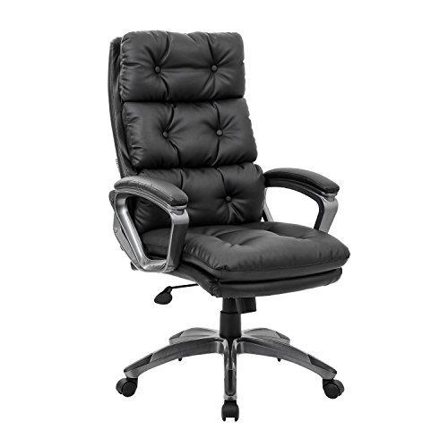 Kadirya High Back Bonded Chair for lower back pain