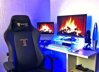 Secret Lab Titan gaming chair review by standingdesktopper.com