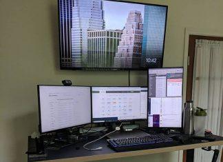 VIVO electric standing desk