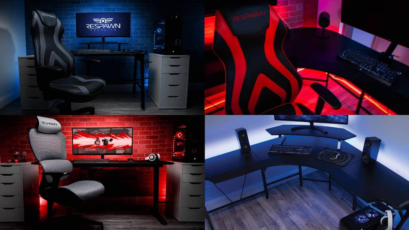 respawn desk gaming pc