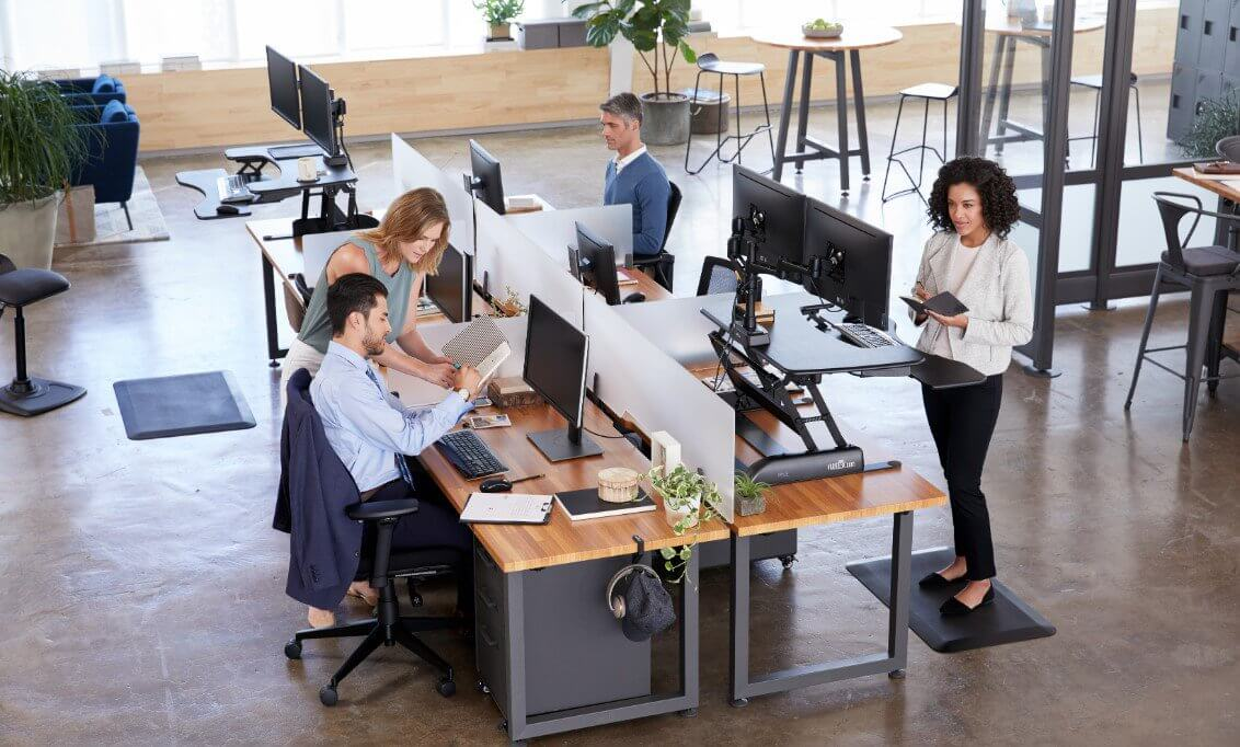 Varidesk pro plus - Standing Desk Converter with a Large Working Space