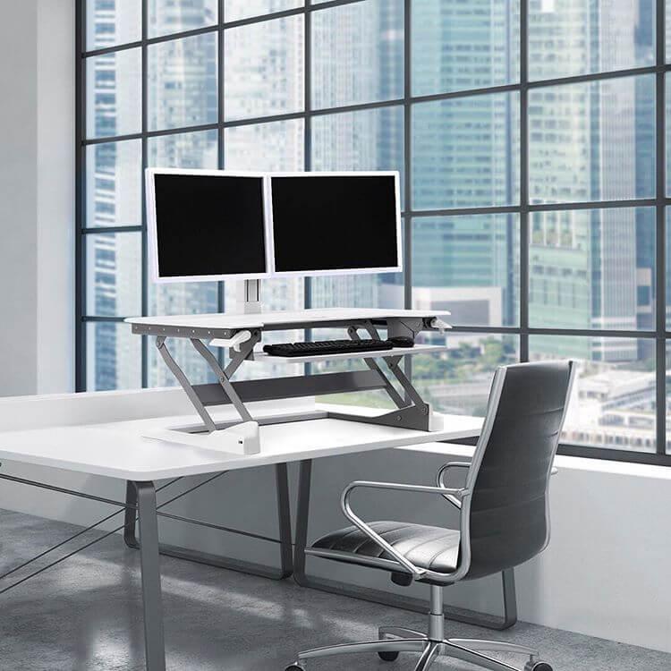WorkFit-S standing desk converter