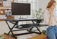FLEXISPOT standing desk converter