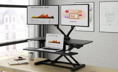 Flexispot stand up desk converter m2b