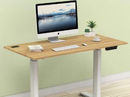 SHW electric height adjustable computer desk review