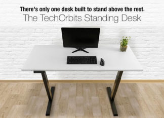 TechOrbits electric standing desk