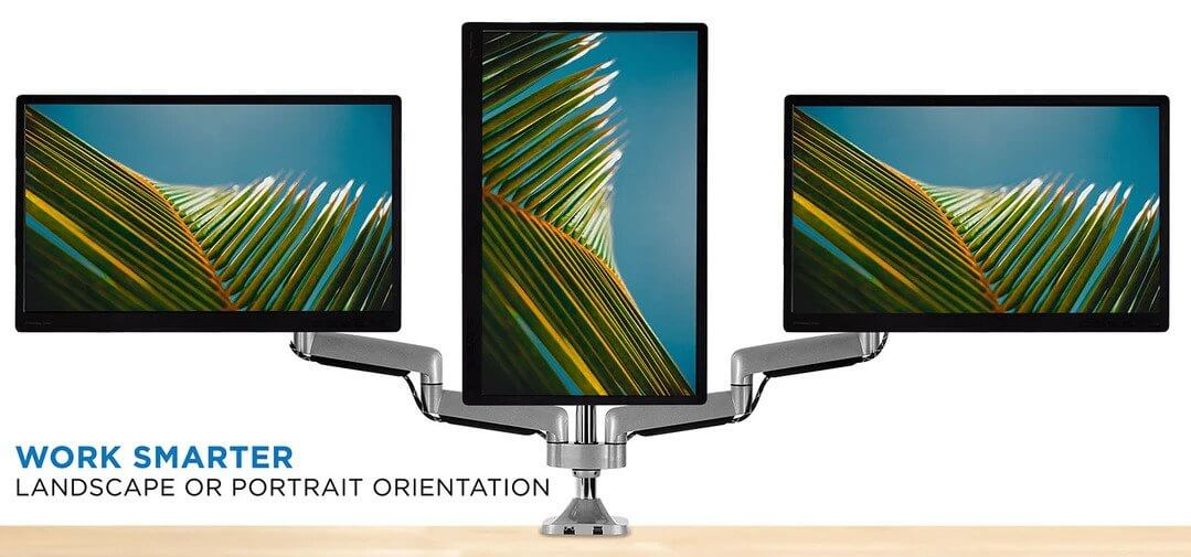 Mount It Triple Monitor Stand review
