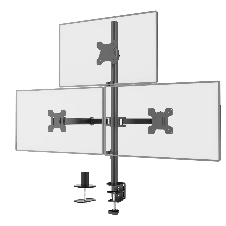 WALI Triple Monitor Stand