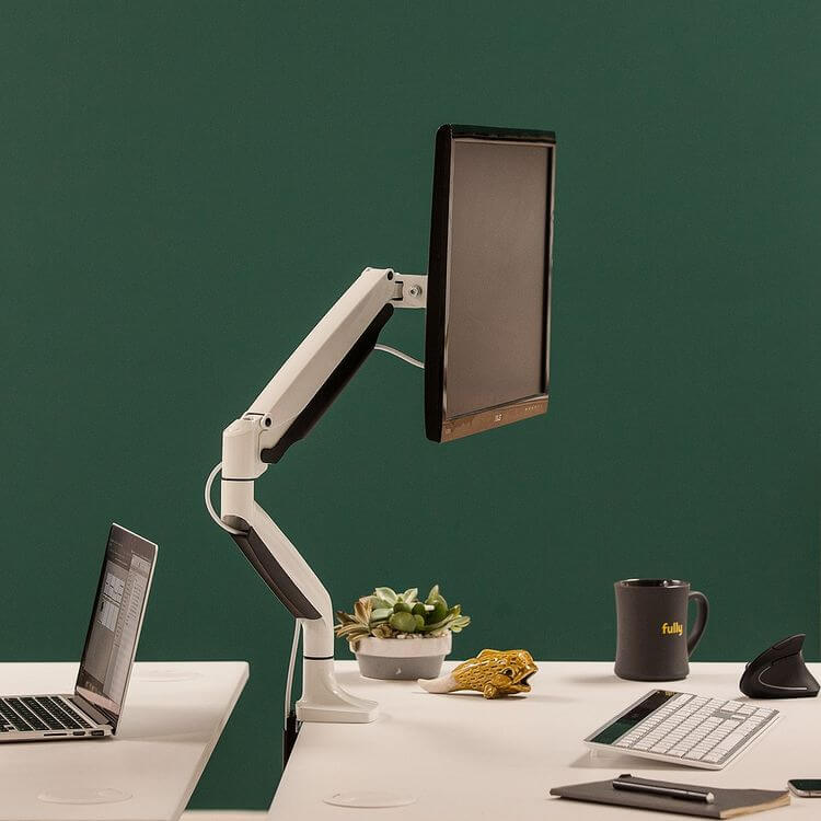 Jarvis Monitor Arm Review - standingdesktopper