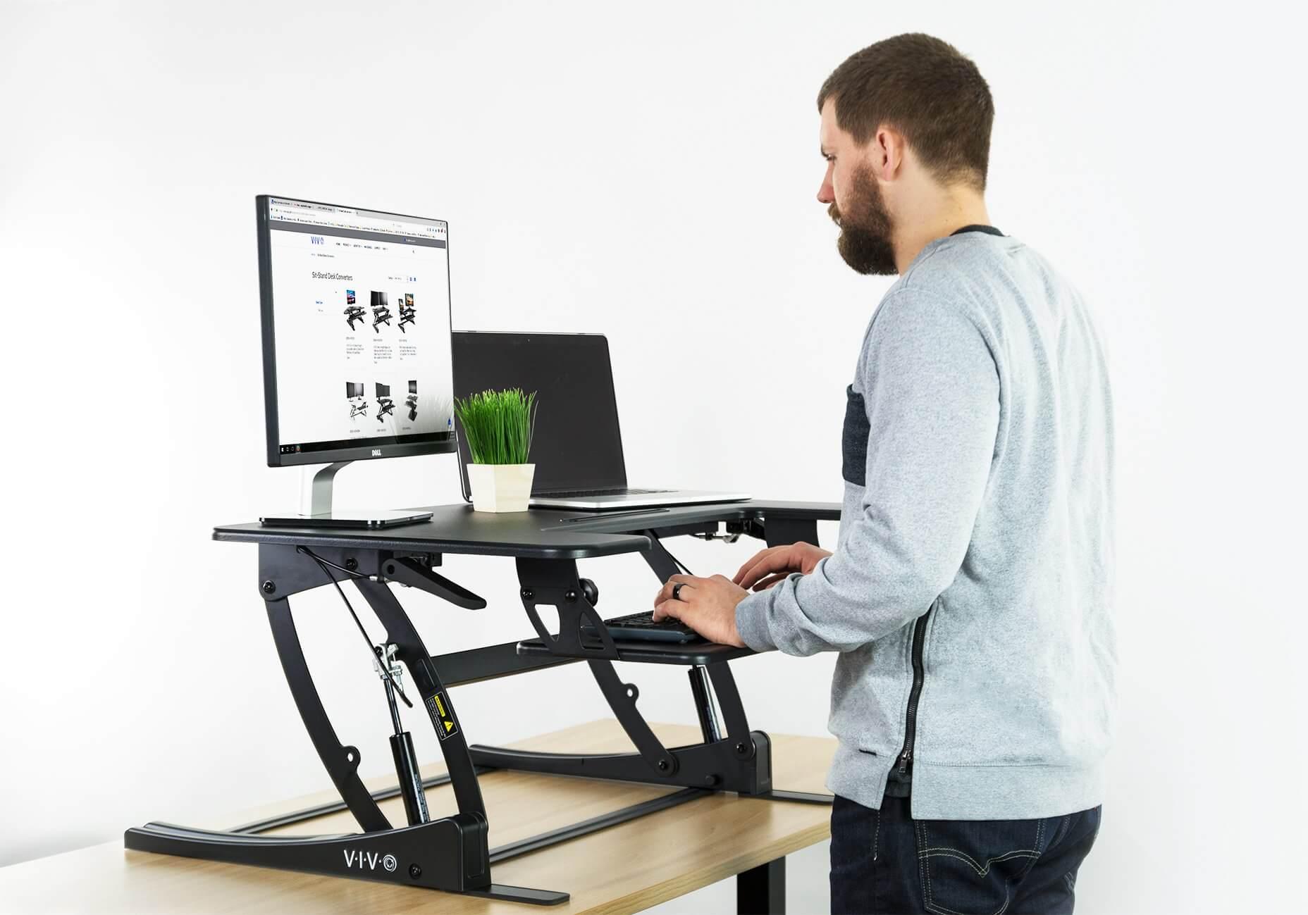 VIVO standing desk converter