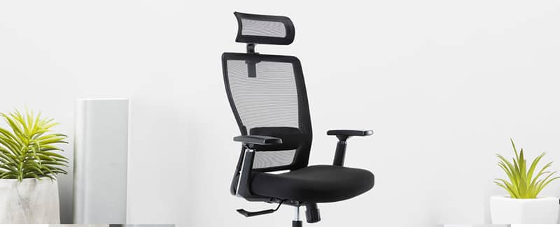 Coru high-back mesh task chair one of top 5 ergonomic office chair under 200