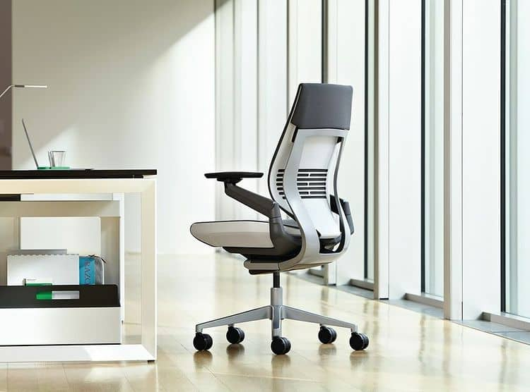 Steelcase Gesture office chair compare vs Fern