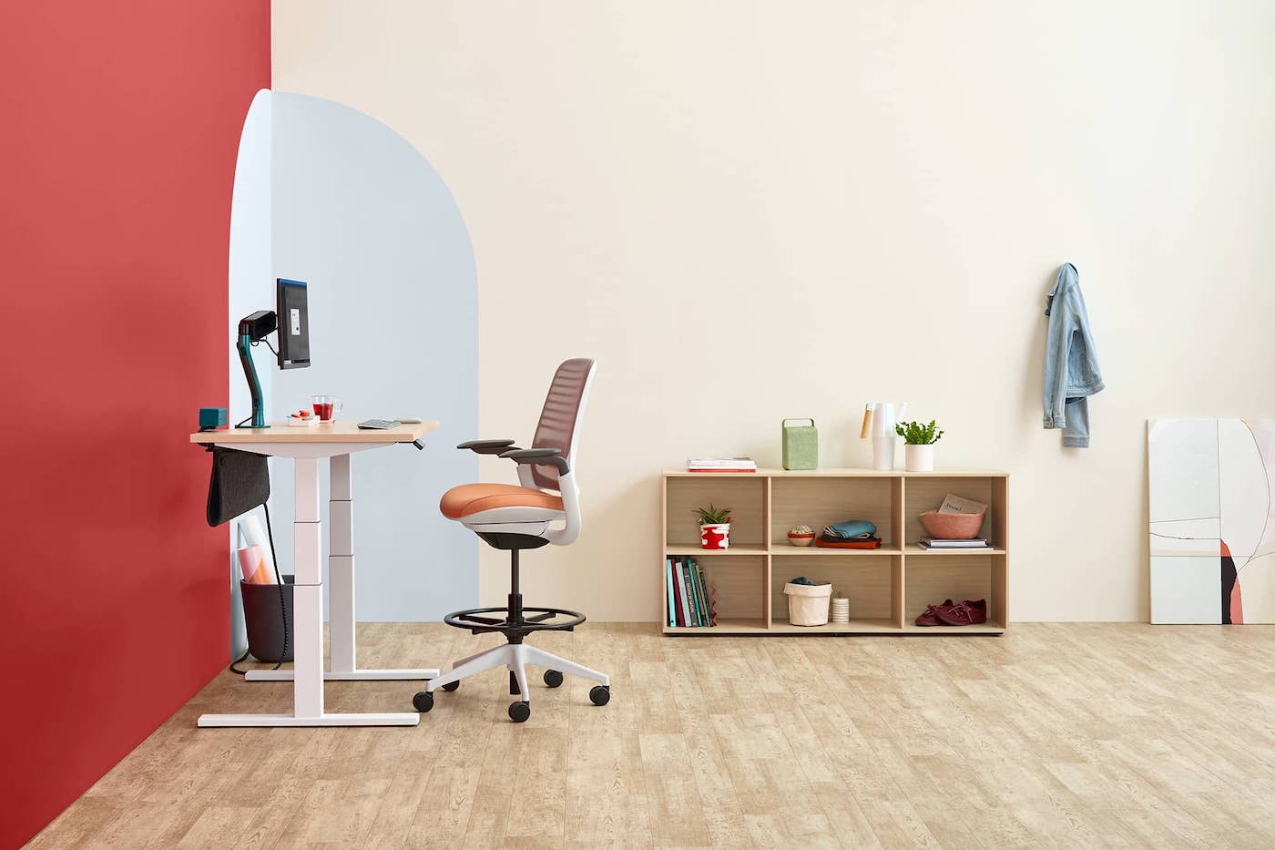 Steelcase Solo sit stand desk