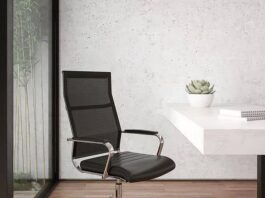Flash furniture high back office chair review