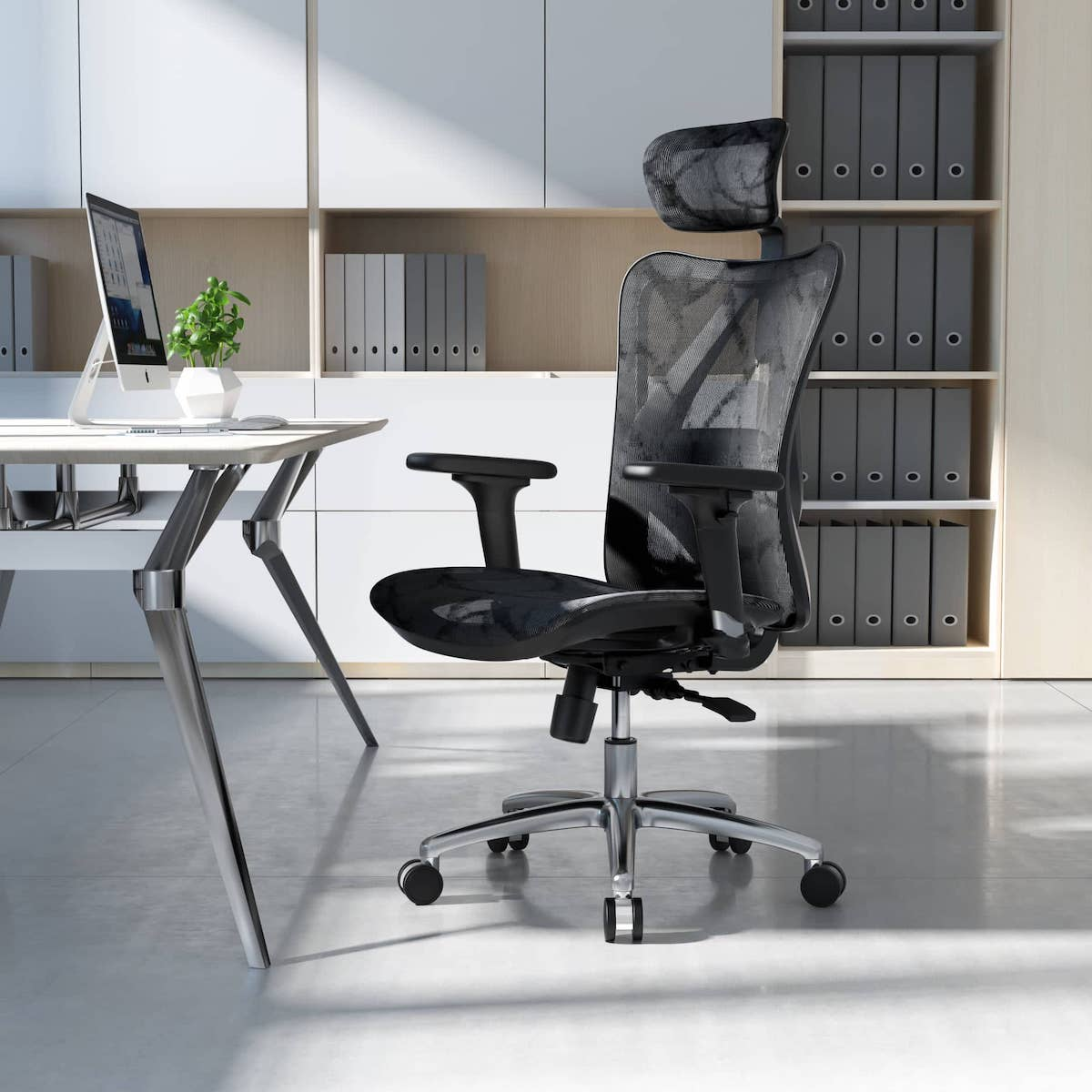 computer chair for long hours of sitting