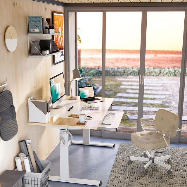 fezibo setup stand up desk