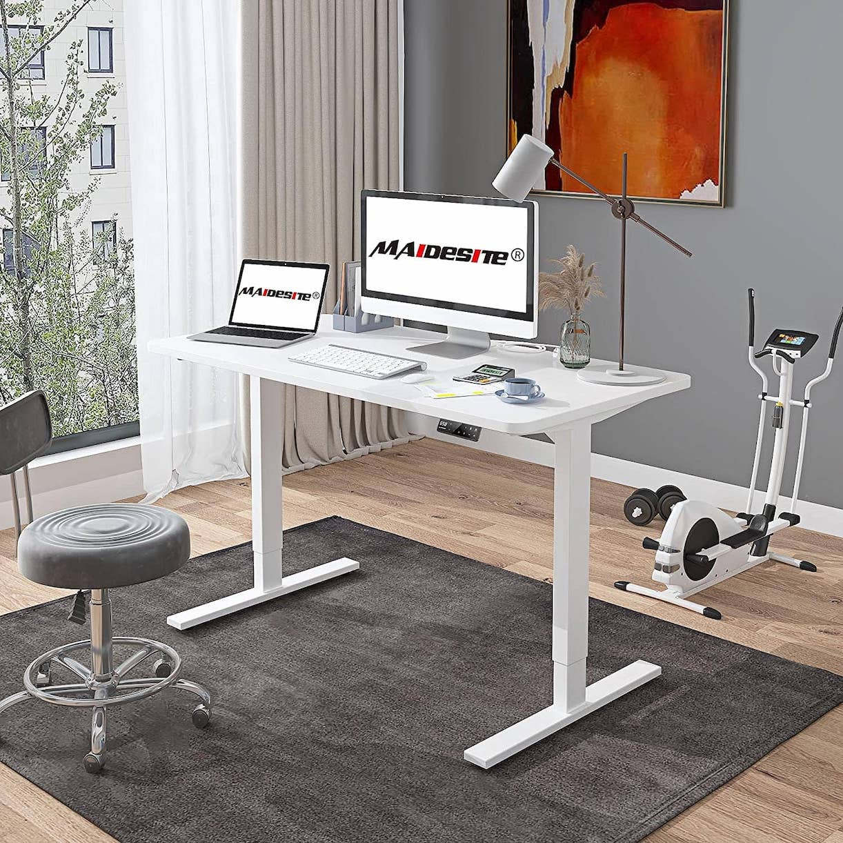 MAIDeSITe sit to stand up desk