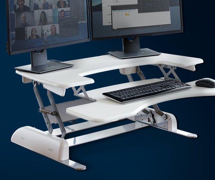 vari desk converter
