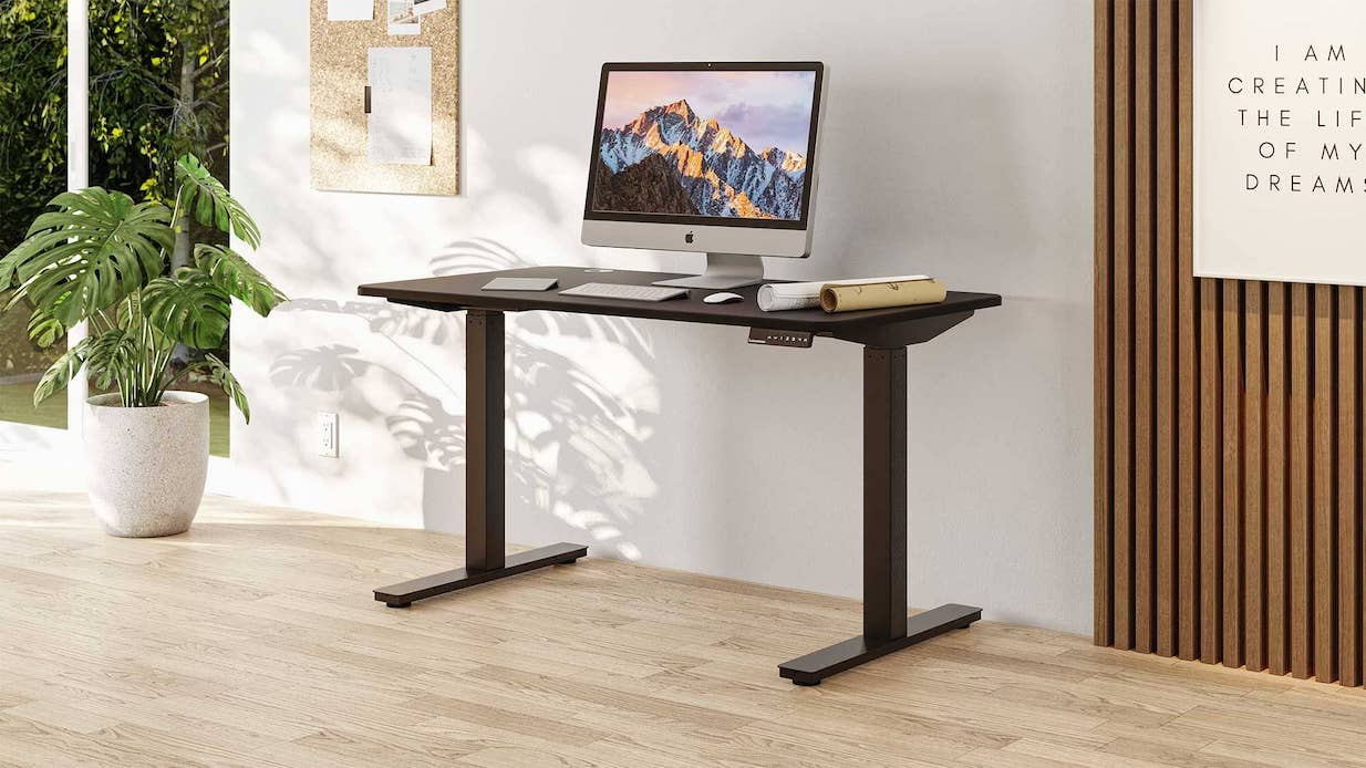 use a standing desk right